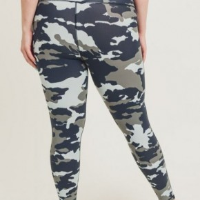 Jungle Camo Curvy Legging by Mono B