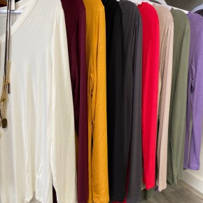 Long Sleeve Basic Top