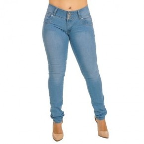 Light Wash Curvy Jean by KABA *Final Sale*