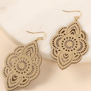 Faux Leather Earring (Multiple Colors)
