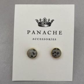 Gem Stud Earring by Panache