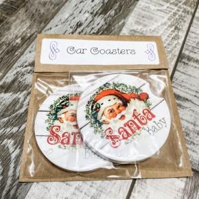 Santa Car Coaster