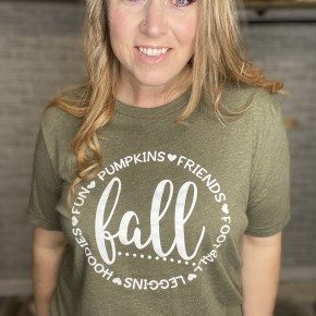 Fall Graphic T