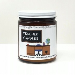 Teacher Candles ~ 10oz Soy Wax Candles