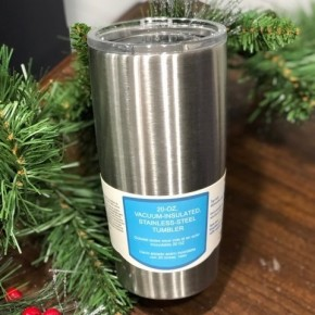 20 oz Vacuum-Insulated Stainless-Steel Tumbler