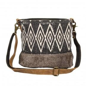 Azure Printed Shoulder Bag