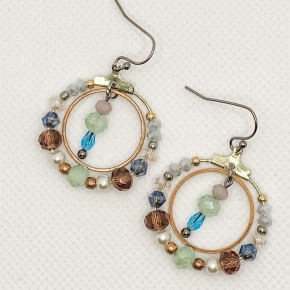 Samantha Hoop Earrings
