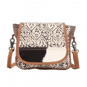 Monochrome Messenger Bag
