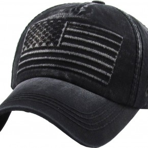 Distressed USA Cap