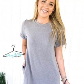 Follow Along With Me T- Shirt Dress