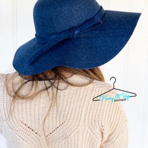 Under Cover Wool Hat- Steel Blue