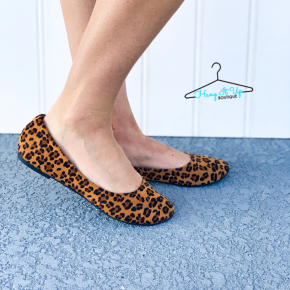 Pounce on It Leopard Flats