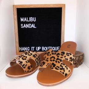 Malibu Sandals- Leopard