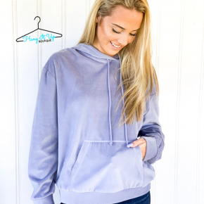Velour Pullover- 4 Colors!