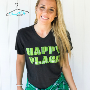 """""""Happy Place"""" Game Day Tee"""