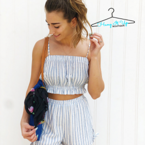 Emil Two-Piece Set- Sky Blue
