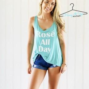 Rosé All Day Tank
