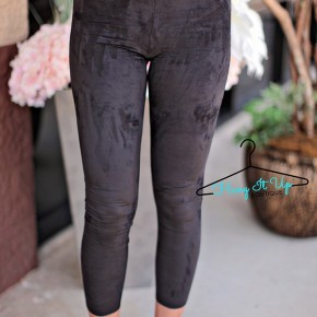 Graham Suede Leggings