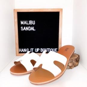 Malibu Sandals- White