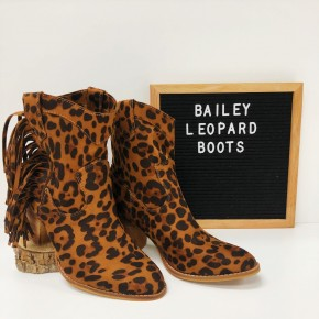 Bailey Leopard Boots