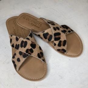 Coconut Pebble Leopard Flats *Final Sale*