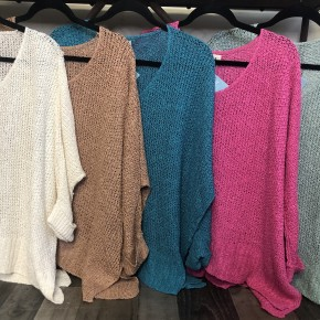 One Size Loose Fit Sweater