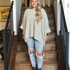 POL Relaxed Fit Sweater