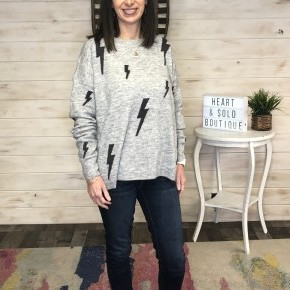 Eesome Lightning Bolt Sweater