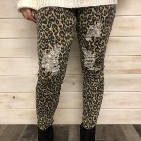 Easel animal print pants *Final Sale*