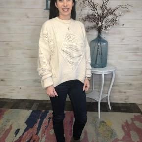 Adora Cream Chunky Sweater