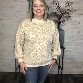 Adora Leopard Sweater *Final Sale*