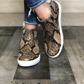 Coconuts Snake Print Sneaker