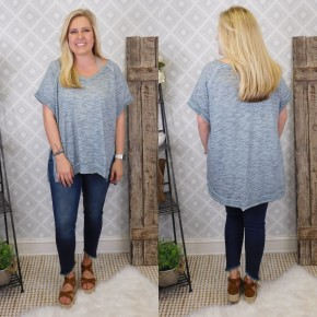 Once In a Blue Moon Top-FINAL SALE