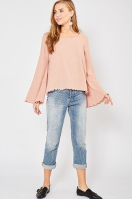 Kiss and Bell Sleeve Top