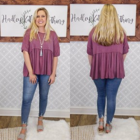 Oversized baby doll Top