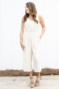 Lined In Linen Jumpsuit