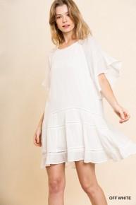 Getaway In Crochet Dress