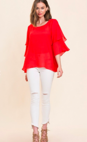 Ruffled and Ready Top