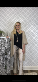 Can't Be Tamed Palazzo Pants