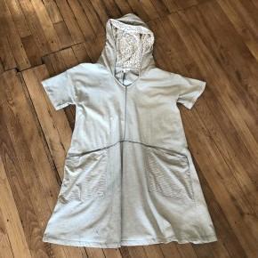 Washed Hooded Boxy Dress