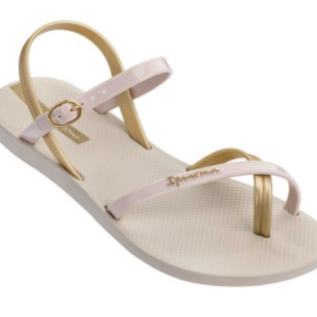 Cream and Sugar Flip Flops