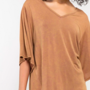 Soft Wide Sleeve Top