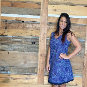 Aspara brand Reversible Dress