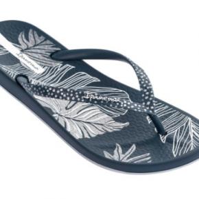Silver Leaf Flip Flops