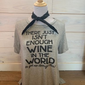 There Isn't Enough Wine in the World..