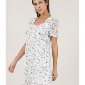 Fit and Flare Floral Print Dress b Molly Bracken