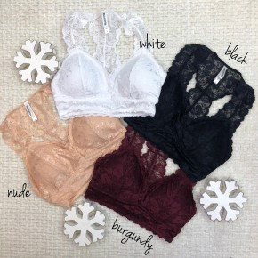 Stand Your Ground Lace Bralette - BLACK FRIDAY