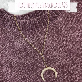 Head Held High Necklace