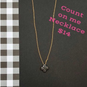 Count On Me Necklace