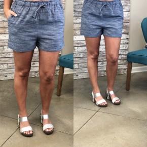Back In Time Denim Shorts